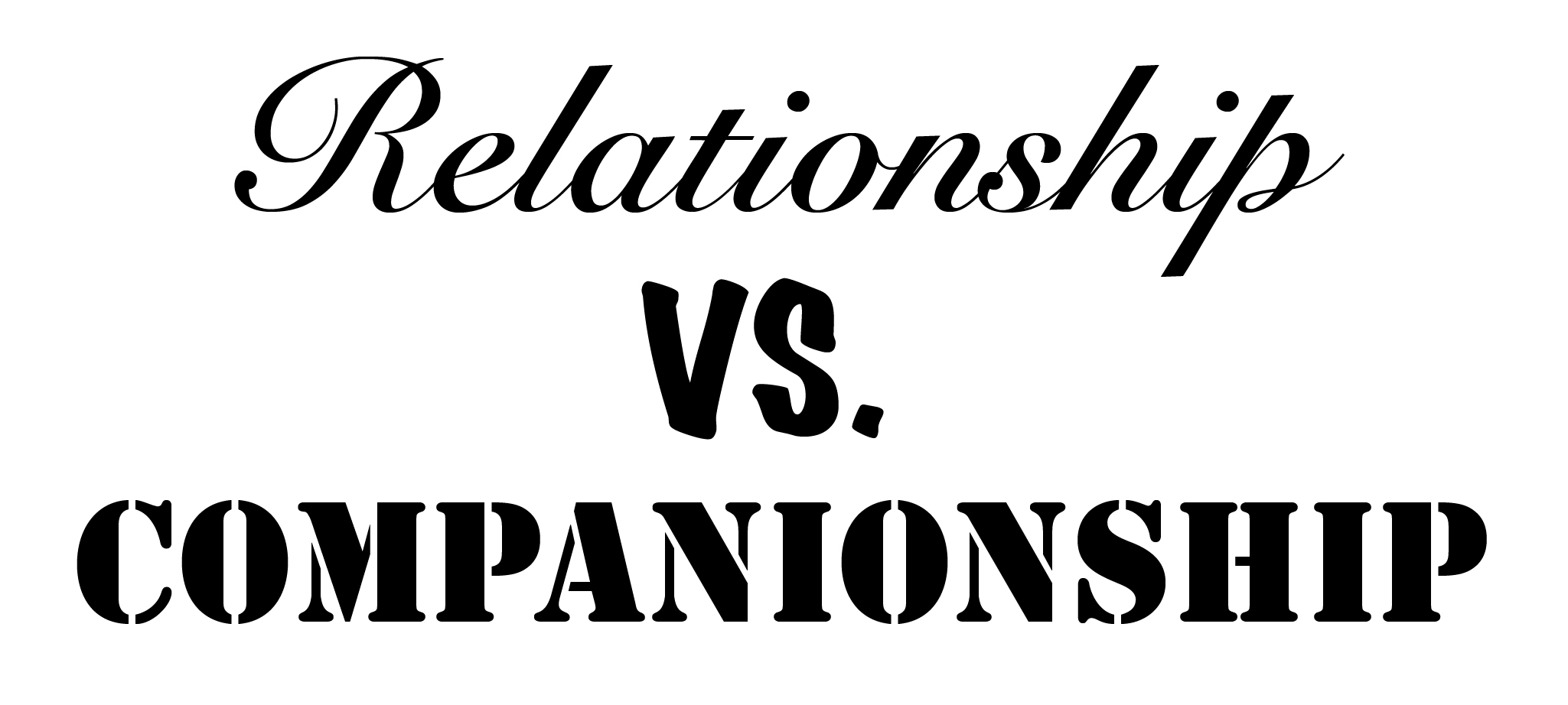 RELATION VS COMPANION-01